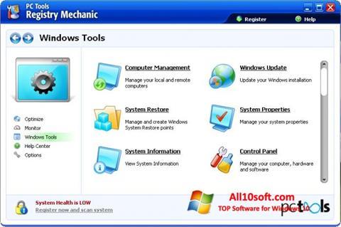 Screenshot Registry Mechanic Windows 10