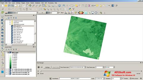Screenshot QGIS Windows 10