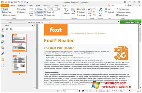 Screenshot Foxit Reader Windows 10