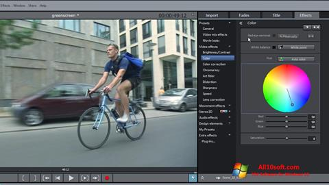 Screenshot MAGIX Movie Edit Pro Windows 10