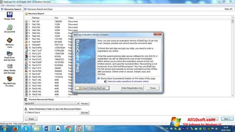 Screenshot BadCopy Pro Windows 10