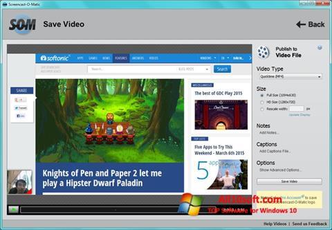 Screenshot Screencast-O-Matic Windows 10