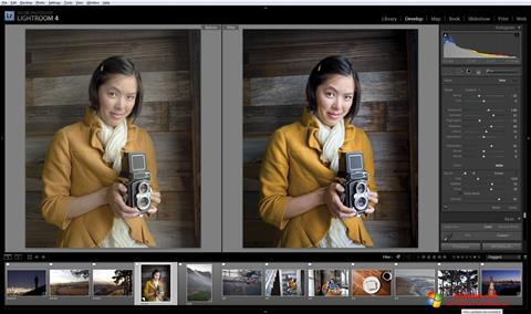 Screenshot Adobe Photoshop Lightroom Windows 10