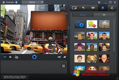 Screenshot CyberLink YouCam Windows 10