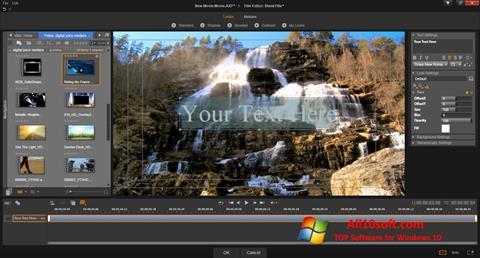 Screenshot Pinnacle Studio Windows 10