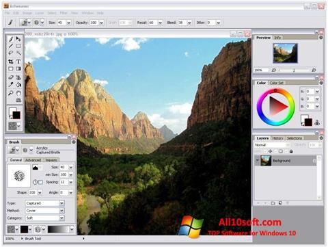 Screenshot Artweaver Windows 10